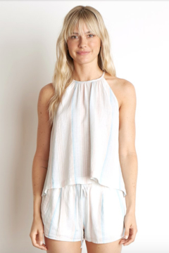 Bella Dahl Button Back Halter Top - Product List Image