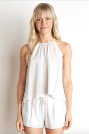 Bella Dahl Button Back Halter Top - Product Mini Image