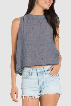 Bella Dahl Button Back Tank - Product List Image
