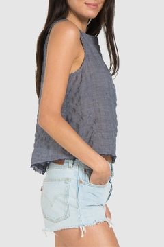 Bella Dahl Button Back Tank - Alternate List Image
