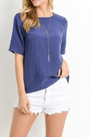 Le Lis Button Back Top - Front full body