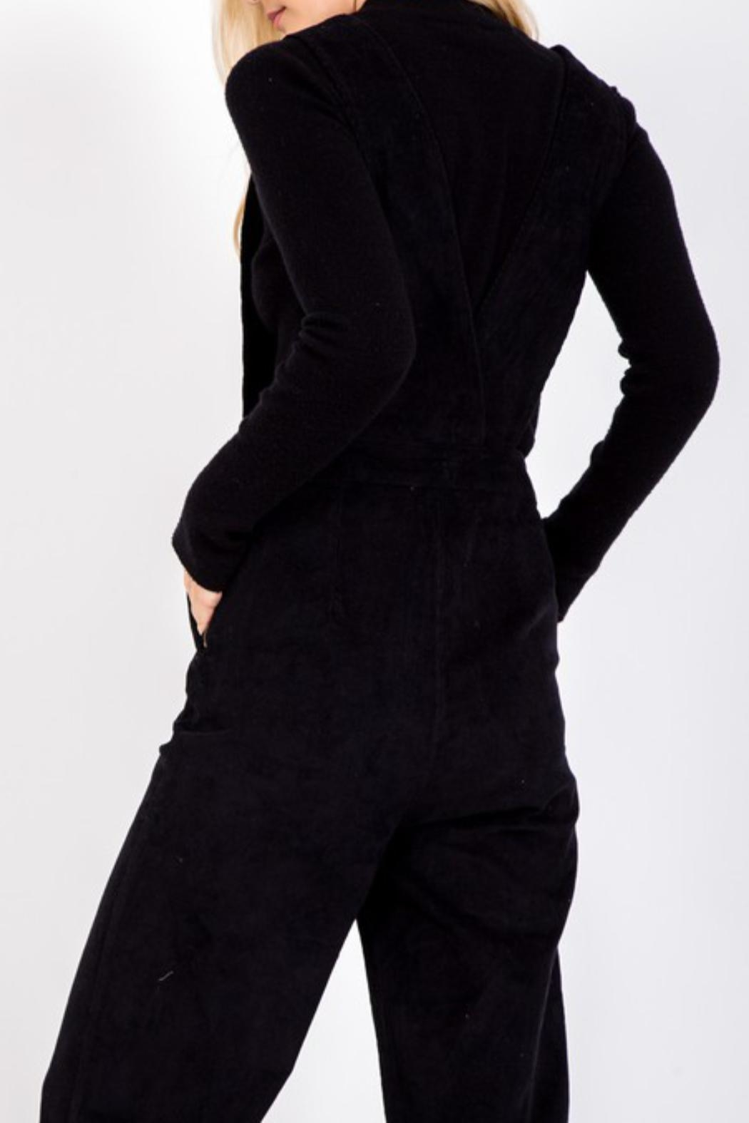 LoveRiche Button Corduroy Overall - Side Cropped Image