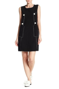 BEULAH STYLE Button Detail Dress - Product List Image
