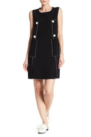 BEULAH STYLE Button Detail Dress - Product Mini Image