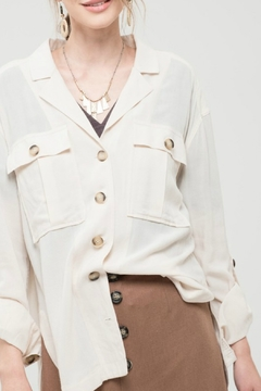 Shoptiques Product: Button Detail Shirt