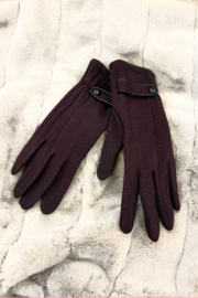 Giftcraft Inc.  Button detail texting gloves - Product Mini Image