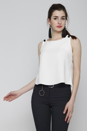 Marvy Fashion Button Detail Top - Product Mini Image