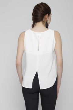 Marvy Fashion Button Detail Top - Alternate List Image