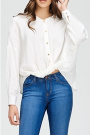 Emory Park Button Down Blouse - Product Mini Image