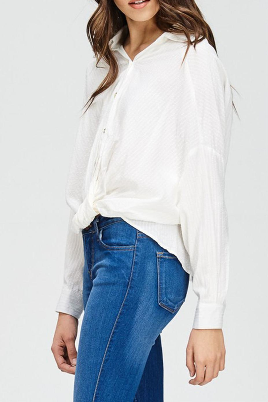 Emory Park Button Down Blouse - Front Full Image