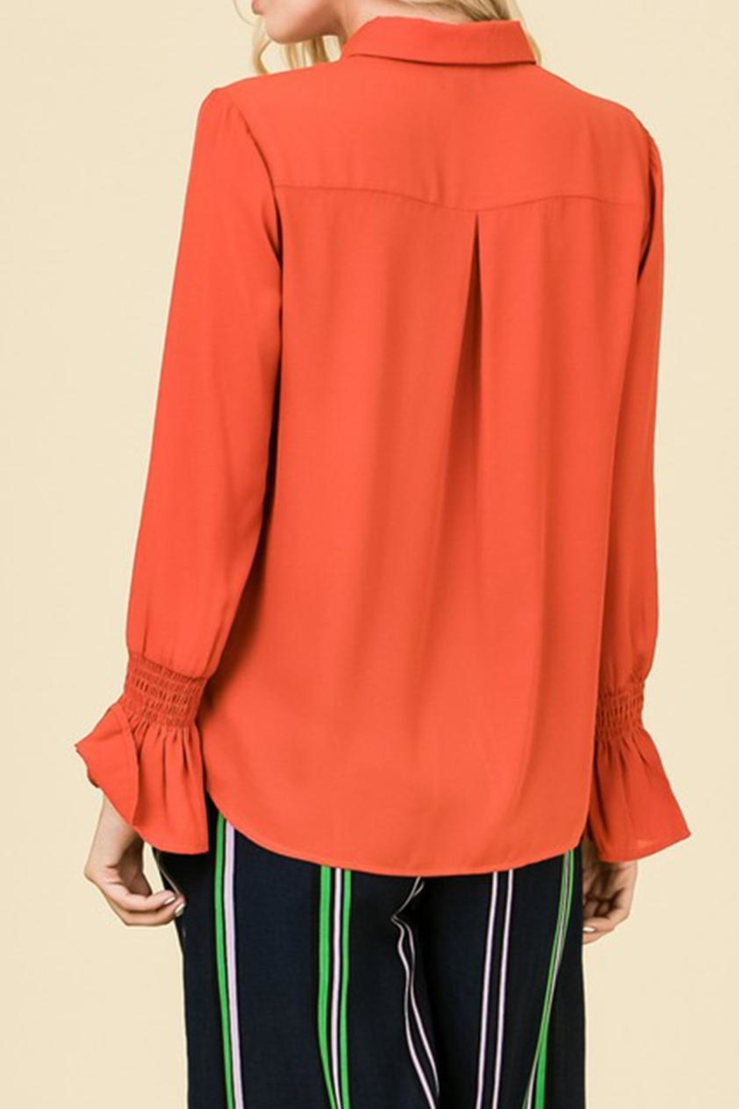 Lumiere Button Down Blouse - Side Cropped Image