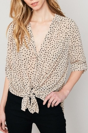 Hayden Los Angeles Button Down Blouse - Product Mini Image