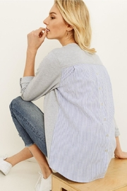 Unknown Factory Button Down Blouse - Product Mini Image