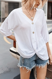 Lyn -Maree's Button Down Blouse - Product Mini Image