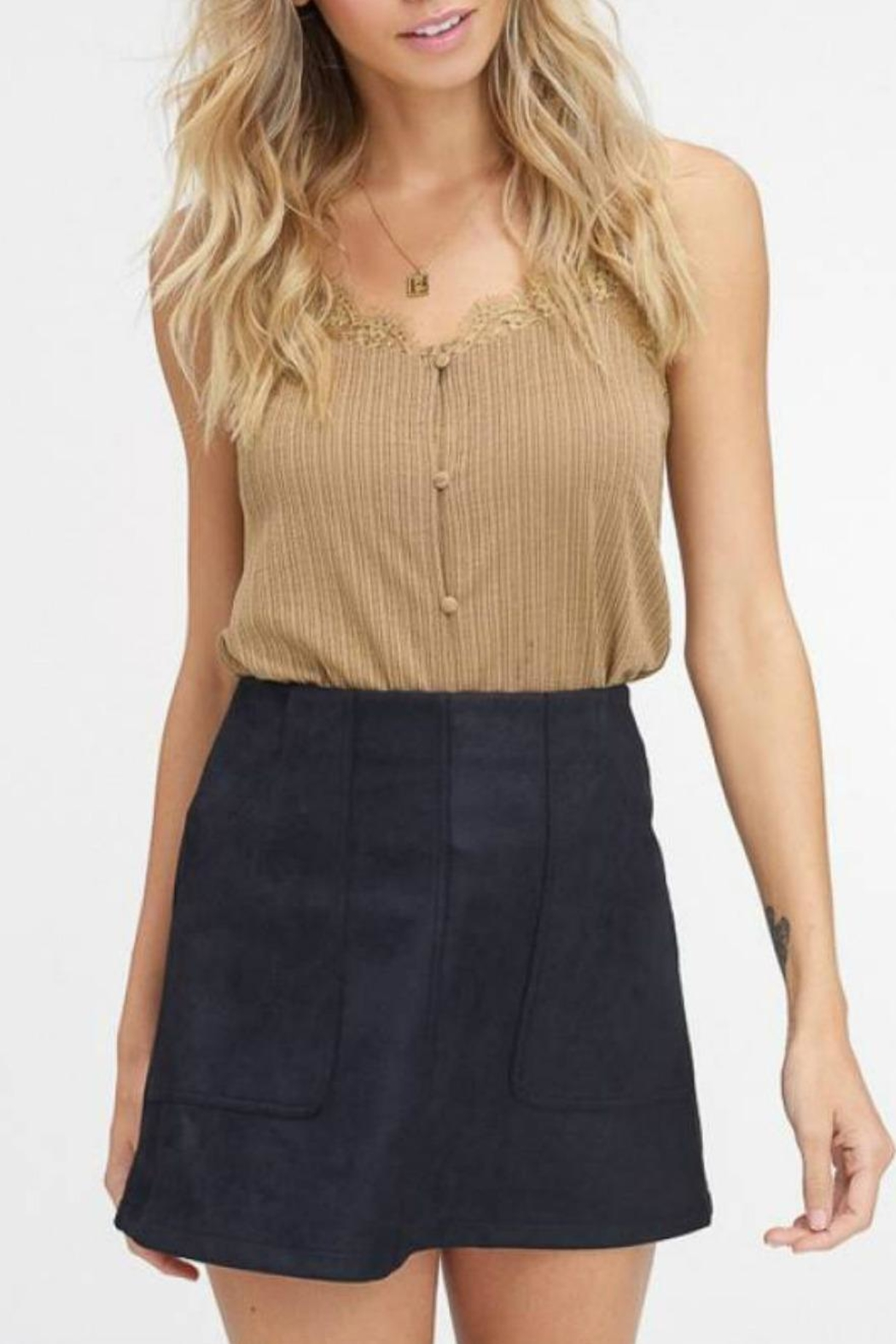 7451099e942 Listicle Button-Down Cami from Statesboro by Sole — Shoptiques