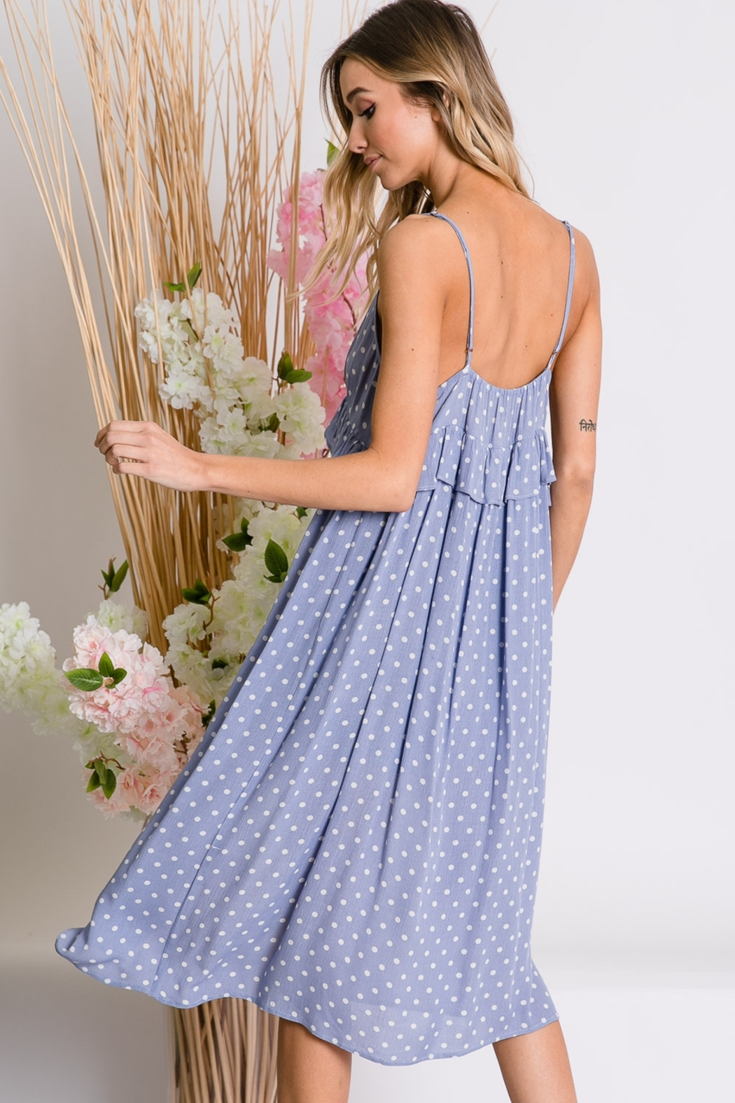 Lyn-Maree's  Button Down Cami Dress - Main Image