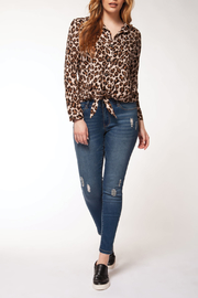Dex Cheetah Blouse - Product Mini Image