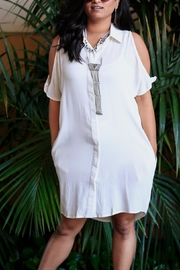 Very J Button-Down Country Dress - Product Mini Image