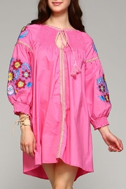 Velzera Button-Down Cover-Up Top - Front cropped