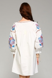 Velzera Button-Down Cover-Up Top - Front full body