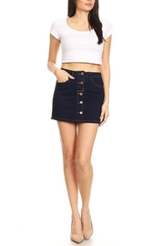 Lyn-Maree's  Button Down Denim Skirt - Product Mini Image