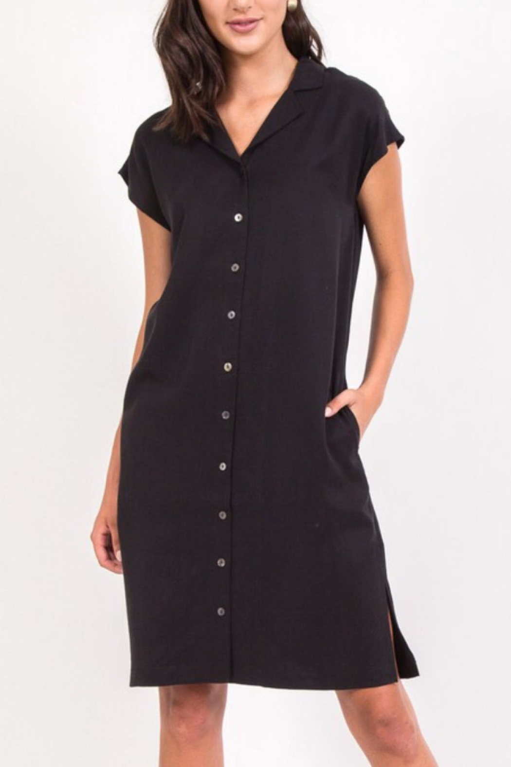 Movint Button Down Dress - Main Image