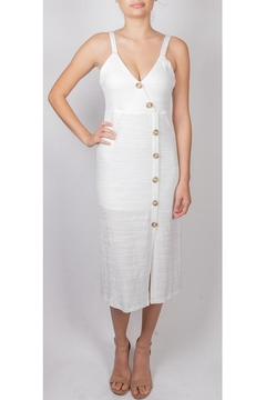 Miss Love Button Down Dress - Product List Image
