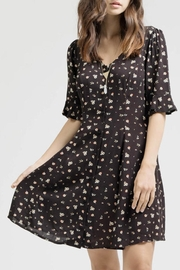 Blu Pepper Button Down Dress - Product Mini Image