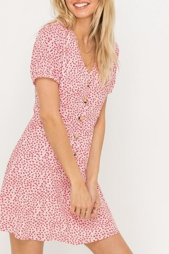 Shoptiques Product: Button-Down Floral Mini-Dress