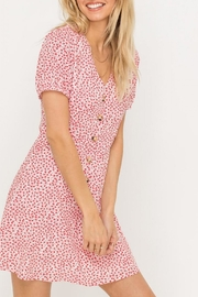 Lush Clothing  Button-Down Floral Mini-Dress - Product Mini Image