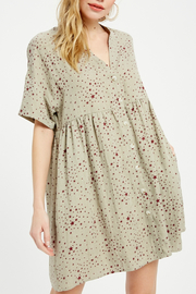 Wishlist Button Down Mini Dress - Product Mini Image