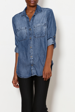 Side Stitch Button Down Shirt - Product List Image