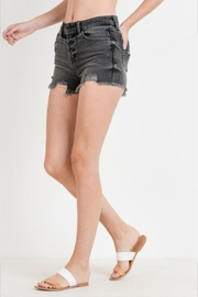 Just USA Button Down Shorts - Front full body