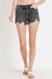 Just USA Button Down Shorts - Front cropped