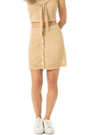 Dee Elly Button Down Skirt - Product Mini Image