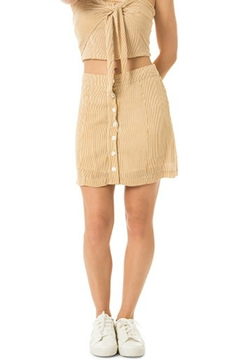 Dee Elly Button Down Skirt - Product List Image