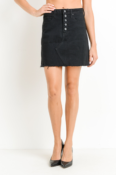 Just Button Down Skirt - Product List Image