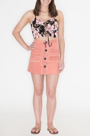 honey belle Button Down Skirt - Product Mini Image