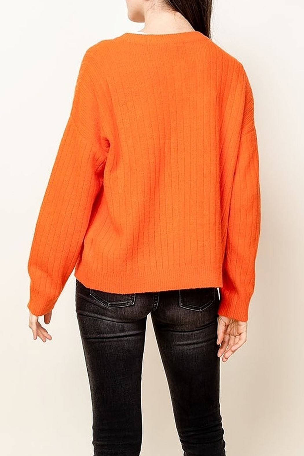 Thml Button Down Sweater - Front Full Image