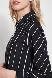 Lysse Button Down Swing Shirt - Side cropped