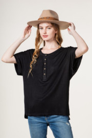 Very J Button Down T-Shirt - Product Mini Image
