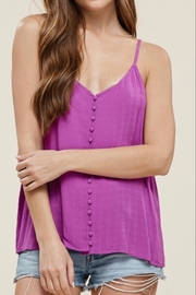 Staccato Button Down Tank - Front cropped