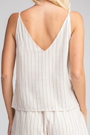 Glam Button Down tank top - Front full body