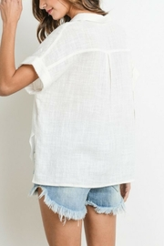 Le Lis Button Down Top - Side cropped