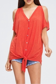 Cherish Button Down Top - Product Mini Image