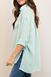 Entro Button Down Top - Side cropped