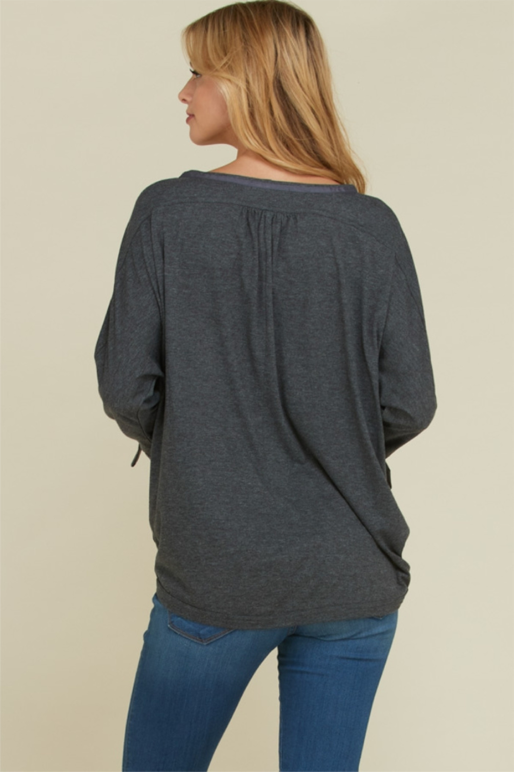 annebelle Button Down Top - Front Full Image