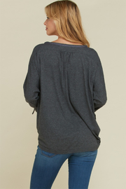 annebelle Button Down Top - Front full body