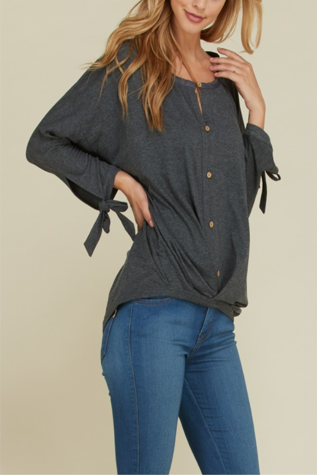 annebelle Button Down Top - Main Image