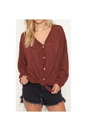 Fantastic Fawn Button Down Top - Product Mini Image